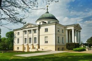LUBOSTROŃ - Założenie pałacowo - parkowe