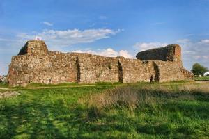 WENECJA - Ruiny zamku średniowiecznego