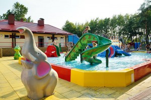 CZŁUCHÓW - Park wodny