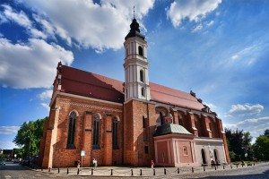 OPOLE - Klasztor i kościół franciszkanów
