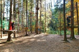 KRYNICA ZDRÓJ - Krynicki Park Linowy