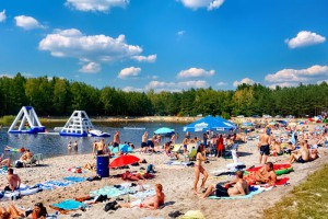 PYSZNICA - Kąpielisko Nasze Piaski