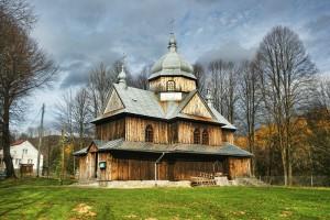 CHMIEL - Drewniana cerkiew