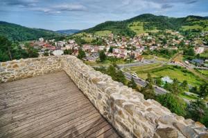 MUSZYNA - Ruiny zamku z punktem widokowym