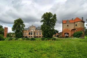 ZAMEK KISZEWSKI - Ruiny zamku krzyżackiego
