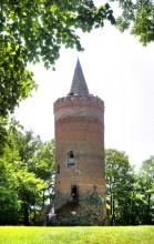 GOLCZEWO - Zamek średniowieczny