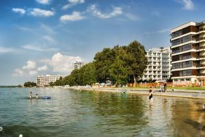SIOFOK - Miasto i główna plaża