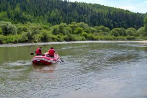 MUSZYNA - Rafting na Popradzie