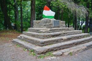Postument z najwyższym punktem Węgier