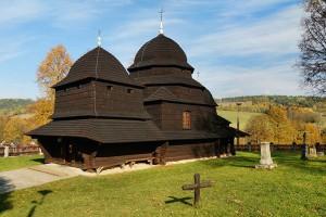 RÓWNIA - Drewniana cerkiew