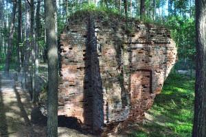 ŁEBA - Ruiny kościoła na wydmach