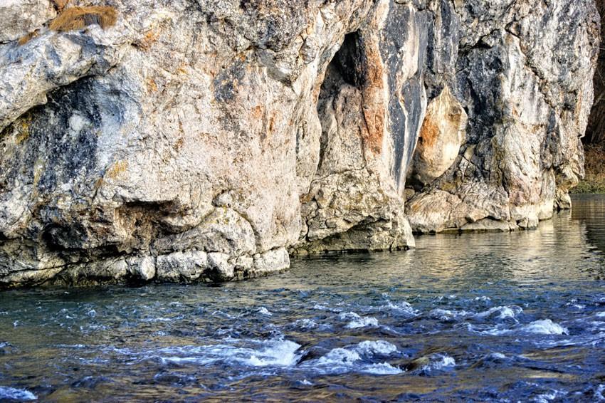 Białka pod skałą Kramnicą