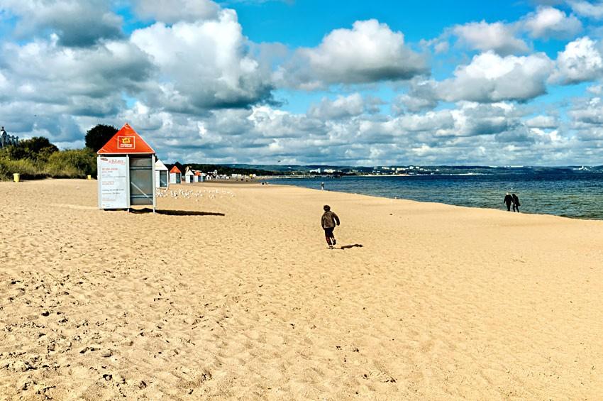GDAŃSK - Plaża Brzeźno