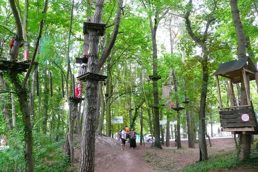 ŚWINOUJŚCIE - Park linowy Bluszcz