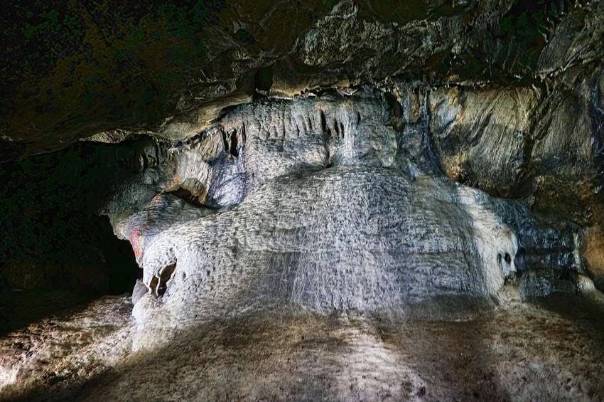 Wnętrze jaskini