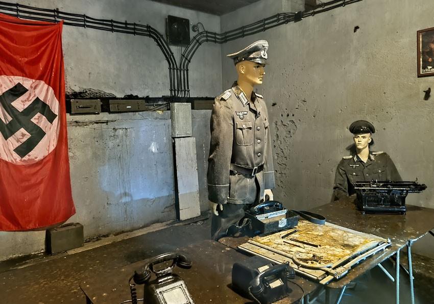 Aranżacja w Centrum Dowodzenia