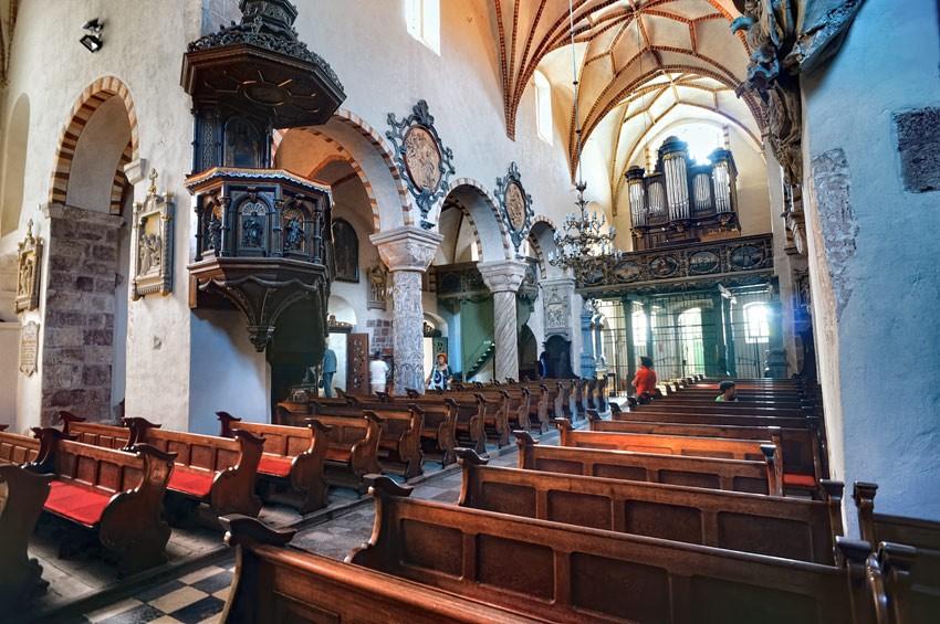 Wnętrze kościoła św. Trójcy