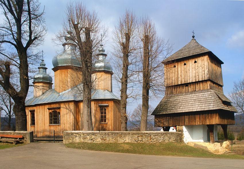 DOBRA SZLACHECKA - Cerkiew drewniana