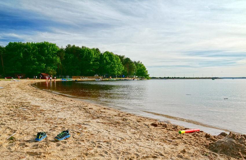 SMARDZEWICE - Plaża na Zalewie Sulejowskim