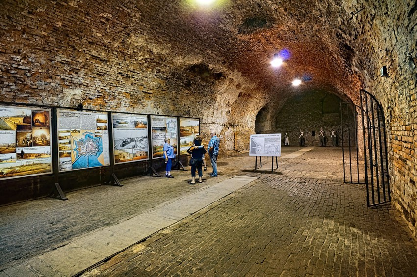 Największe pomieszczenie w fortyfikacjach