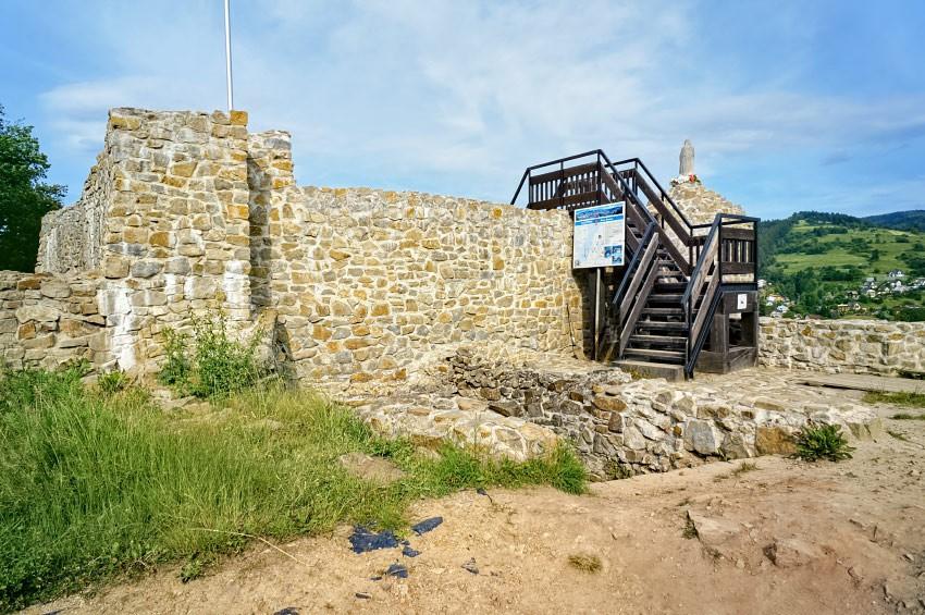 Pozostałości zamku