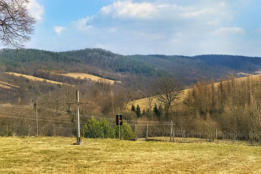 Krajobraz przy cerkwi