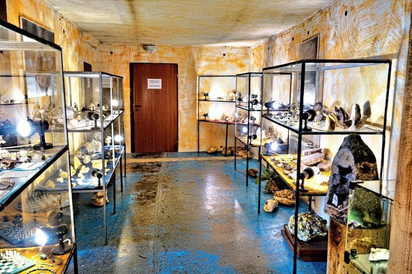 Wystawa minerałów