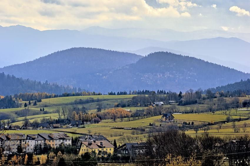 Krajobraz bieszczadzki