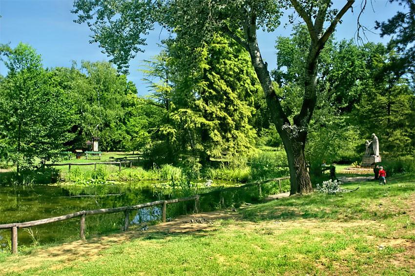 DEBRECZYN - Ogród botaniczny
