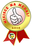 Miejsce na medal 2010