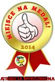 Miejsce na medal 2014